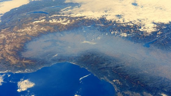 inquinamento atmosferico nord italia