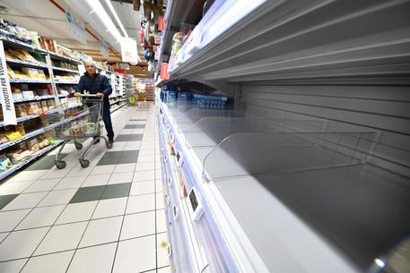 Coronavirus, corsa all'acquisto nei supermercati ma e' ingiustificata