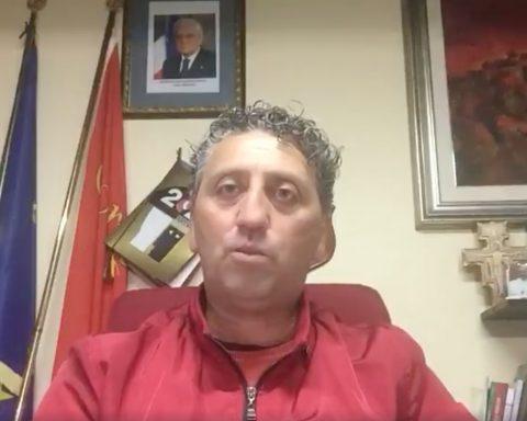 Il sindaco di Maenza Claudio Sperduti