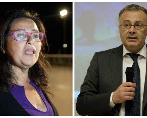 Paola Villa e Giorgio Casati