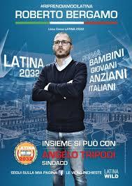 Comunali 2016: Roberto Bergamo candidato per Latina Olim Palus a sostegno di Angelo