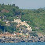 Una veduta dell'area del Castello di Gianola