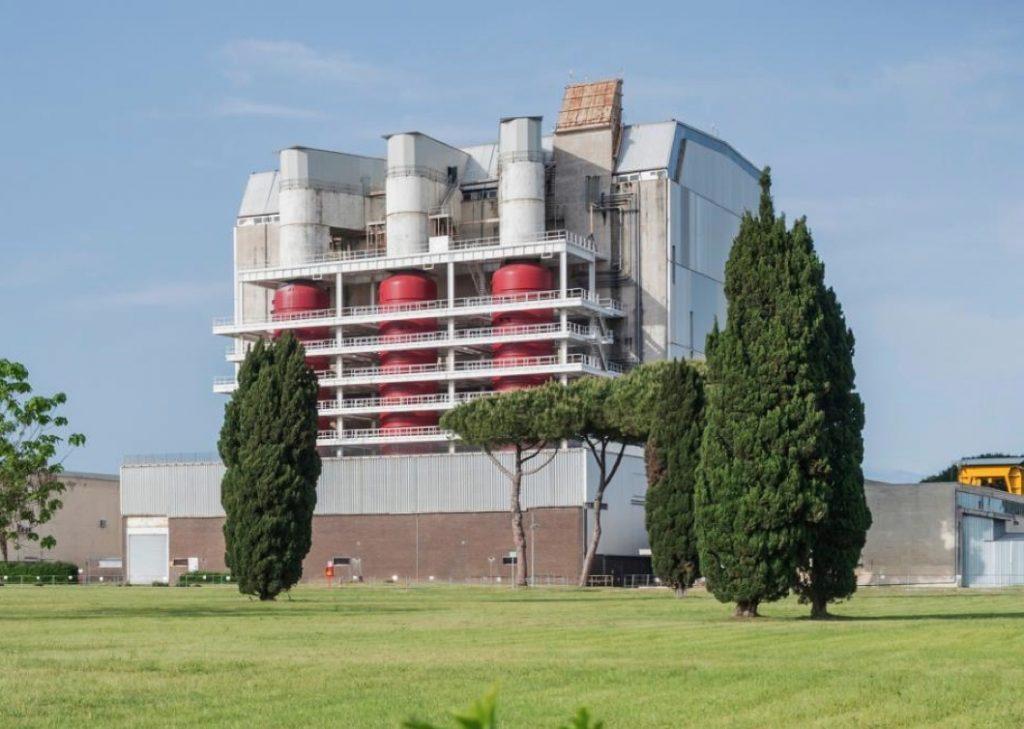 Centrale Nucleare di Latina attiva dal 1964 al 1986