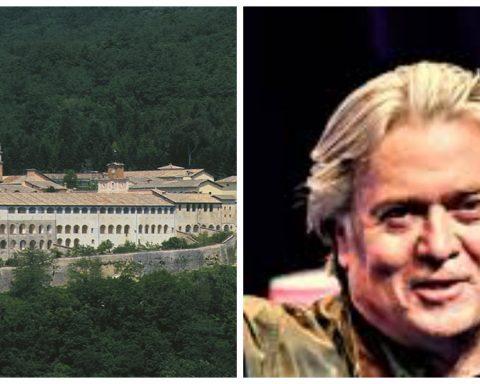 Certosa di Trisulti e l'ideologo del sovranismo Steve Bannon