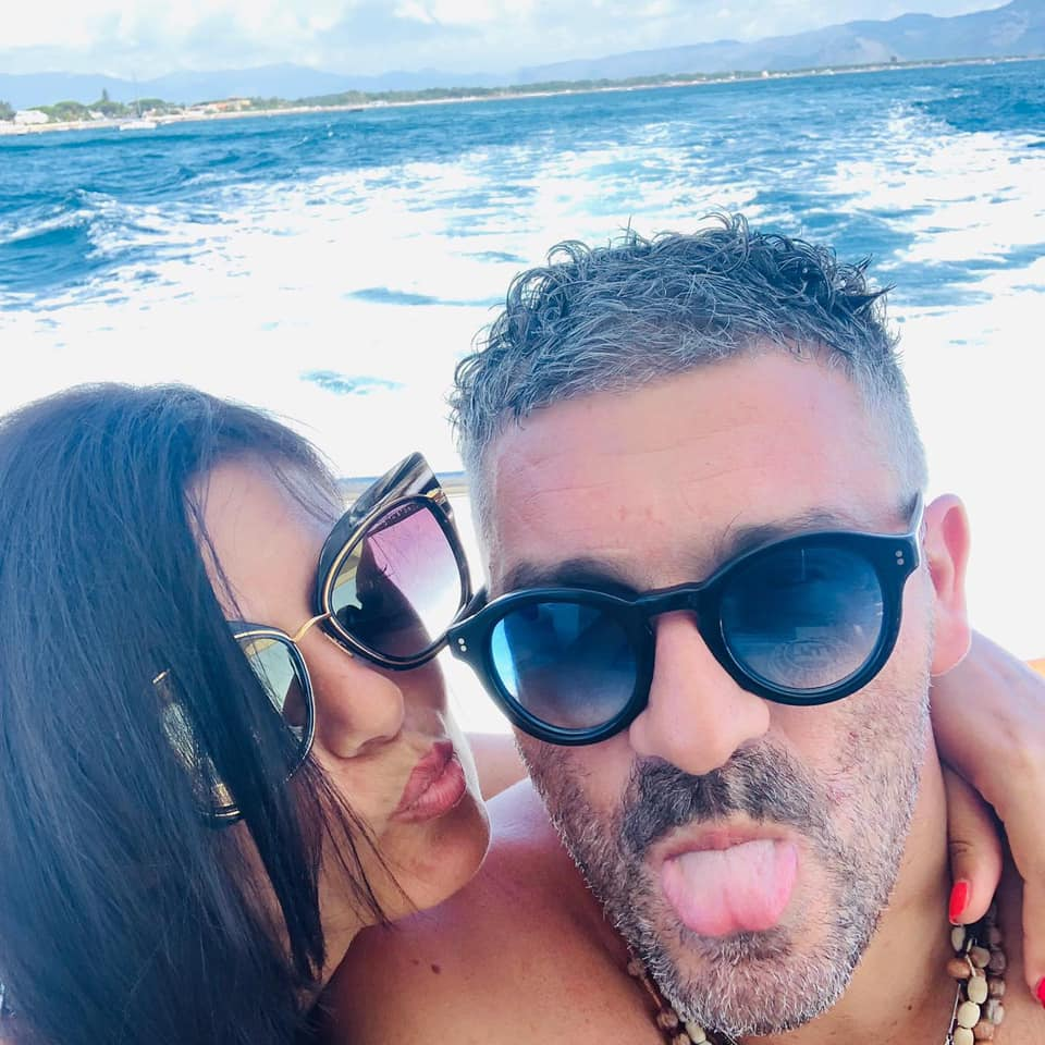Claudia Licari e Silviano Di Pinto (foto pubblico da profilo Facebook)