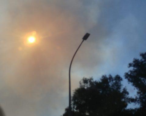 Incendio alla Ex Nova Solai di Borgo San Michele avvenuto lo scorso luglio 2019