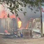 Incendio in Via Forma, Sperlonga
