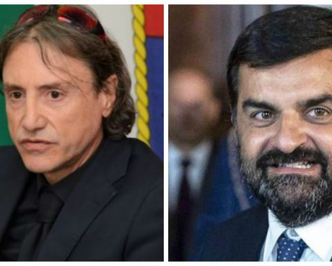 L'ex pm della Procura di Latina Gregorio Capasso e Luca Palamara