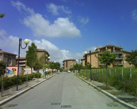Via Caligola, Aprilia