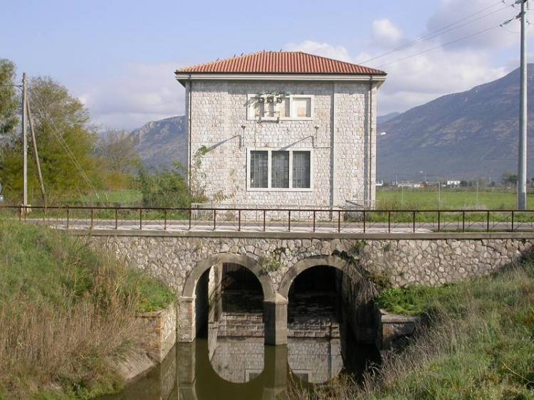 Impianto idrovoro di Calambra a Terracina