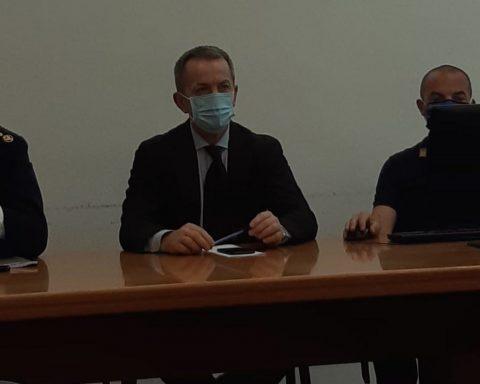 Conferenza stampa in Questura per l'indagine Ascaris