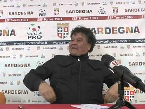 Donemico Capitani quando era alla Presidenza della squadra calcistica della Torres