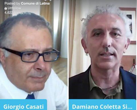 Giorgio Casati e Damiano Coletta