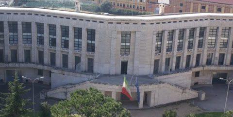 Palazzo M a Latina, sede del Comando Provinciale della Guardia di Finanza