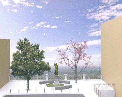 Progetto architettonico di riqualificazione di Piazza del Duomo e di installazione della statua di San Lidano