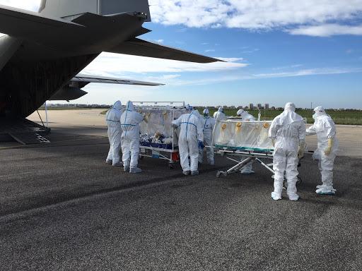 alto biocontenimento aereo