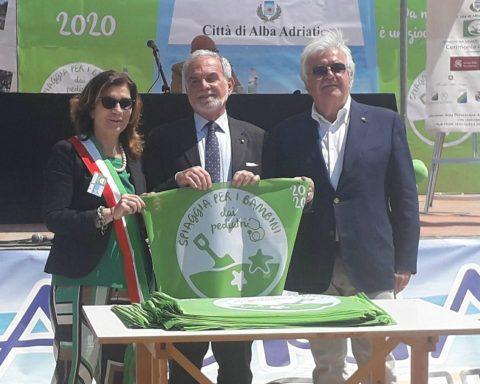 consegna bandiera verde