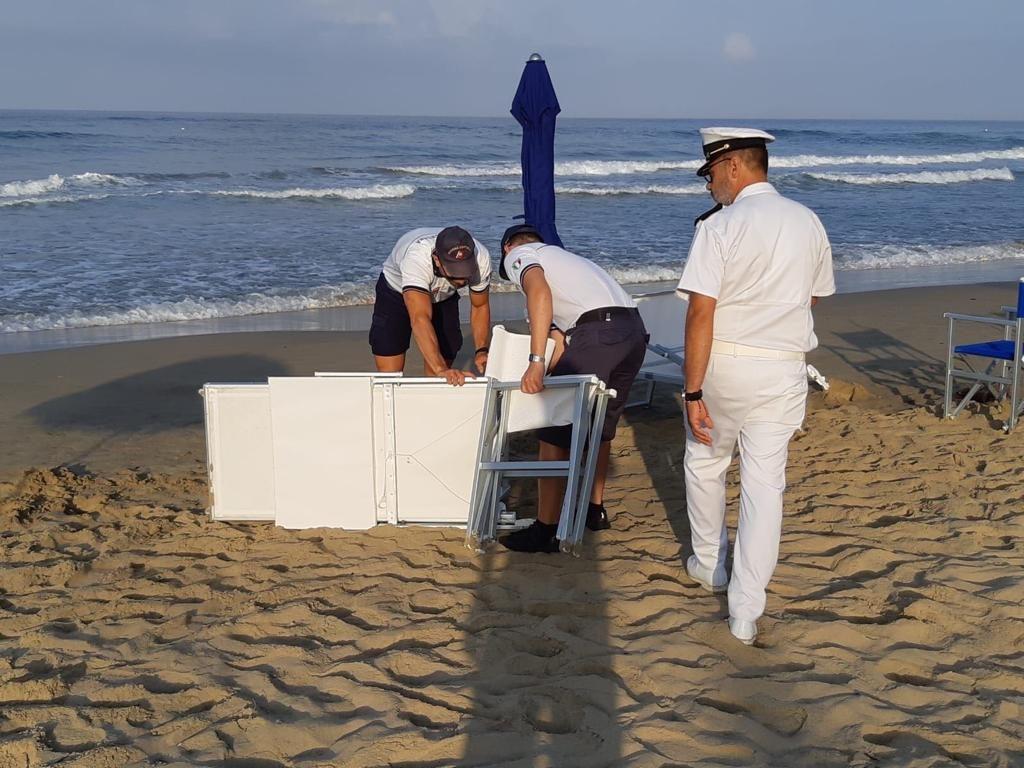 Controlli sulle spiagge