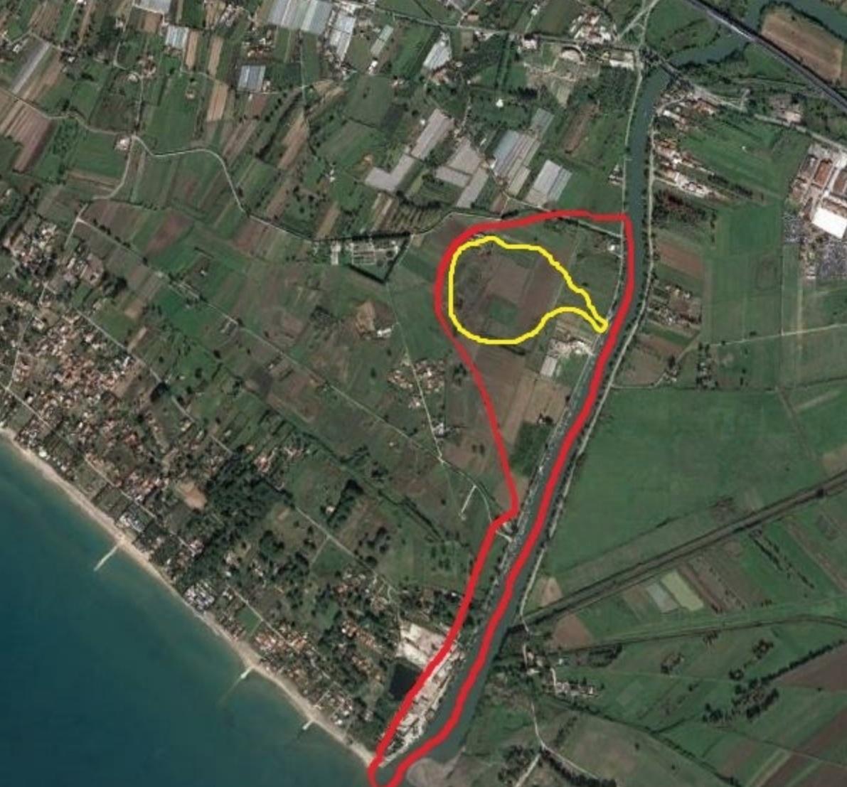 inquadramento territoriale dell'area in esame.
