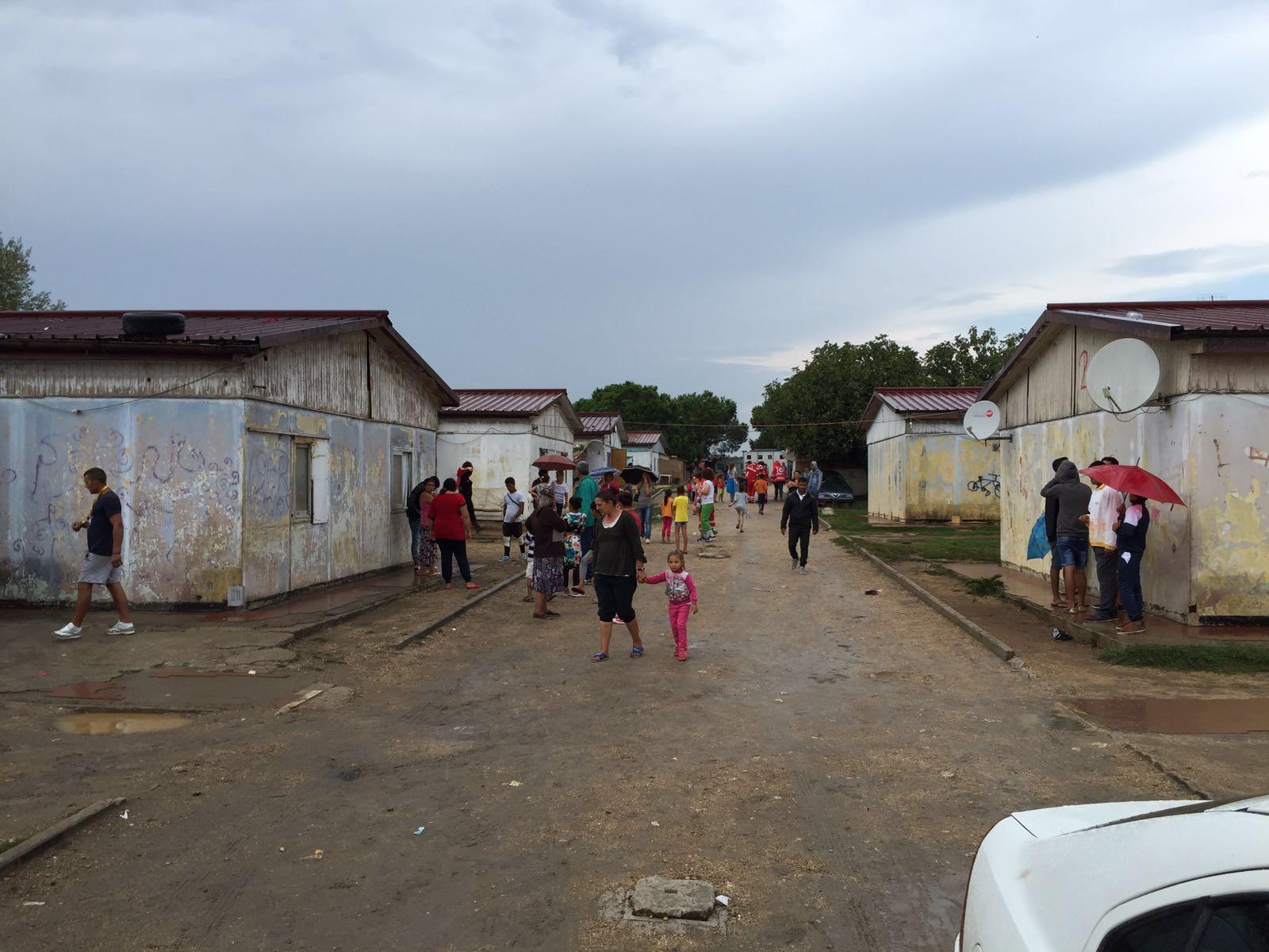 AL KARAMA, il campo rom di Borgo Bainsizza a Latina