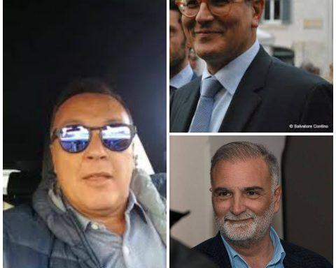 Fabio Altissimi, Claudio Moscardelli ed Enrico Forte