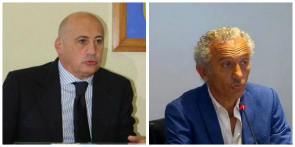 Giacomo Mignano e Damiano Coletta