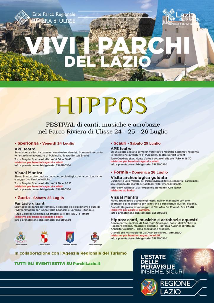 Hippos-festival-di-canti-musiche-e-acrobazie-nel-Parco-Riviera-di-Ulisse