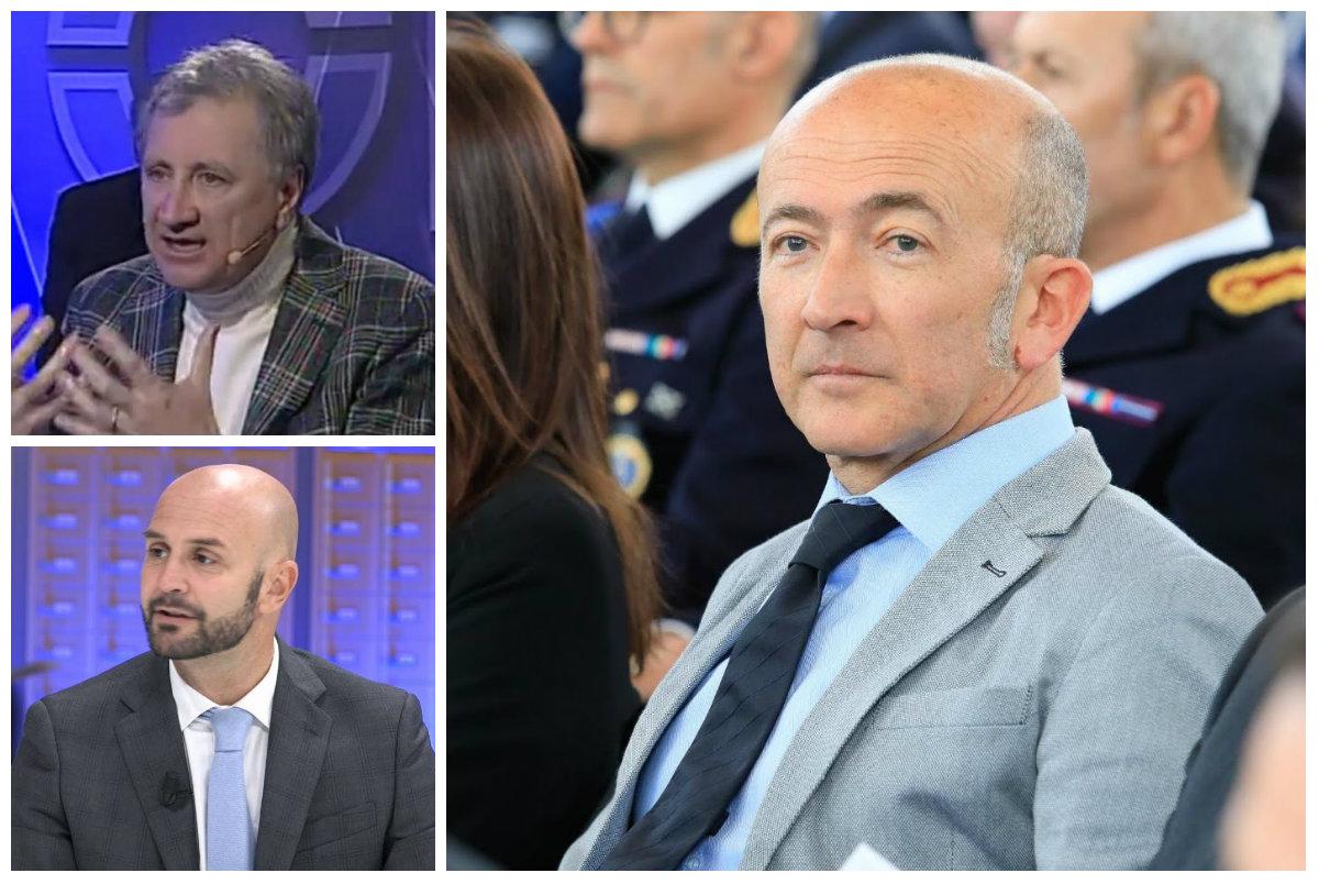 Nicola Calandrini, Nicola Procaccini e Giuseppe Cario
