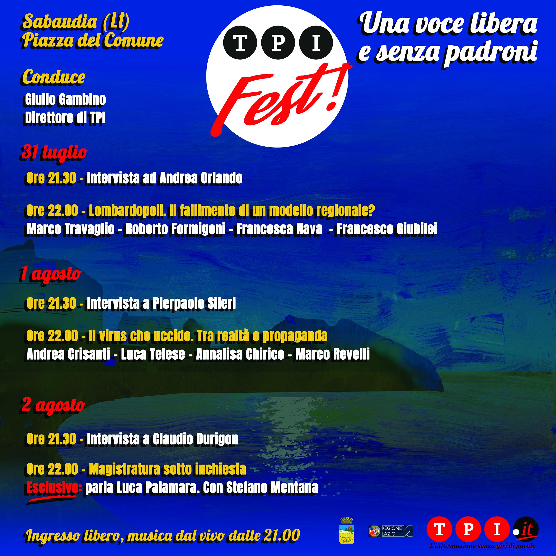 Programma Tpi Fest
