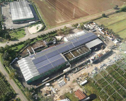 Sep, l'impianto di compostaggio sito nell'area industriale di Mazzocchio