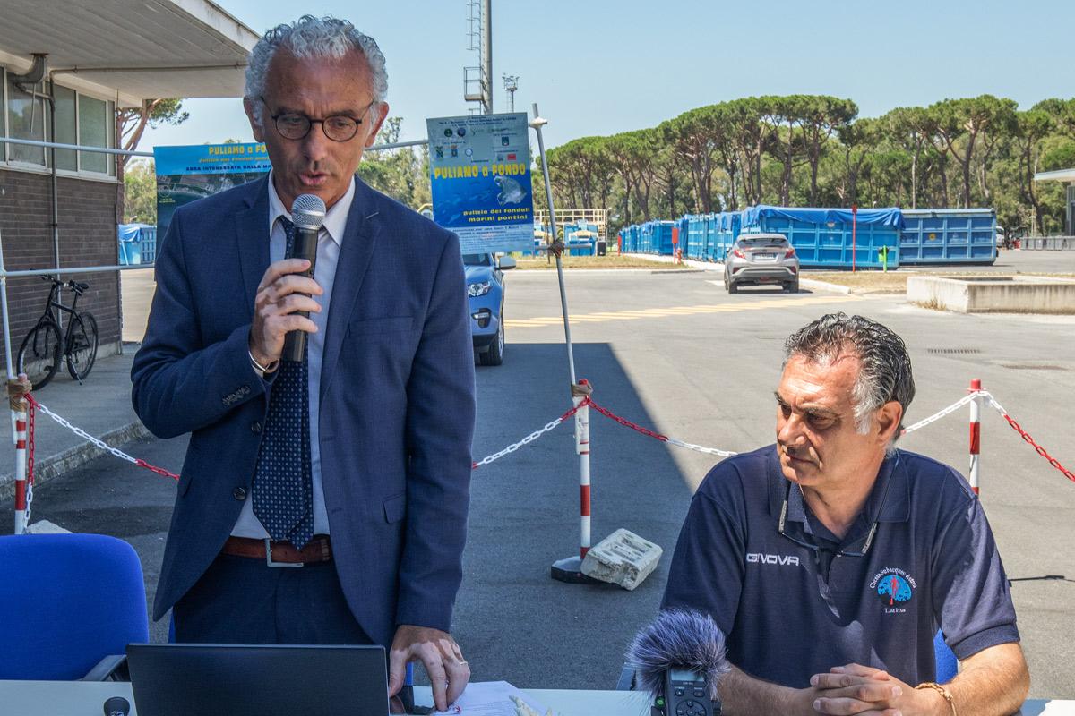 Sindaco - Damiano Coletta e Vice Presidente ASD Noi & il Mascarello -Scalia Maurizio