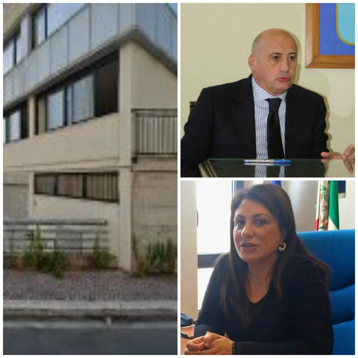 Uffici del Giudice di Pace a Latina, Giacomo Mignano e Caterina Chiaravalloti
