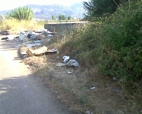Zona industriale di Mazzocchio, Pontinia (foto dal blog pontiniaecologia