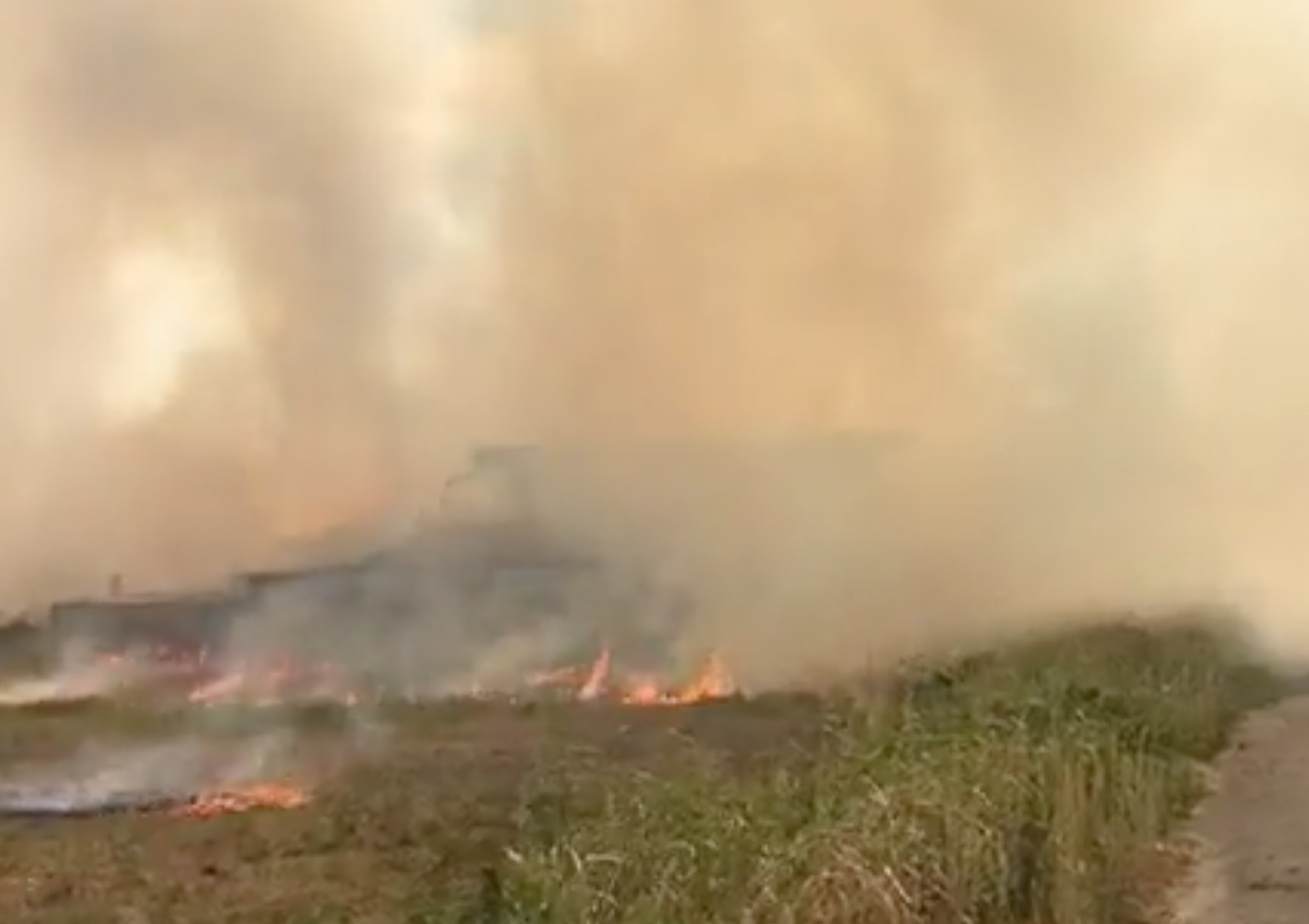 Incendio a Franceschetti, Cisterna