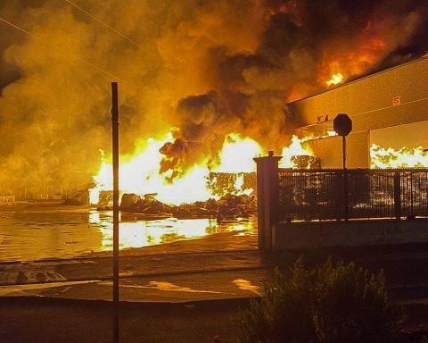 La Loas in fiamme - 9 agosto 2020