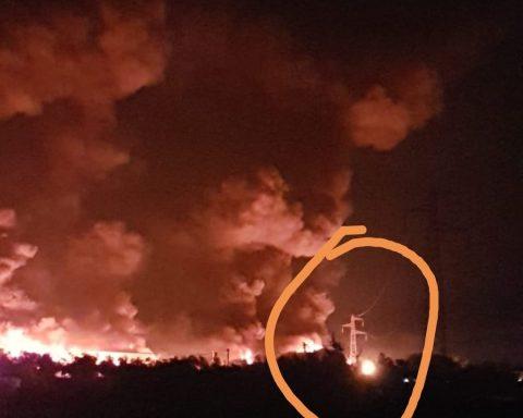 Loas in fiamme
