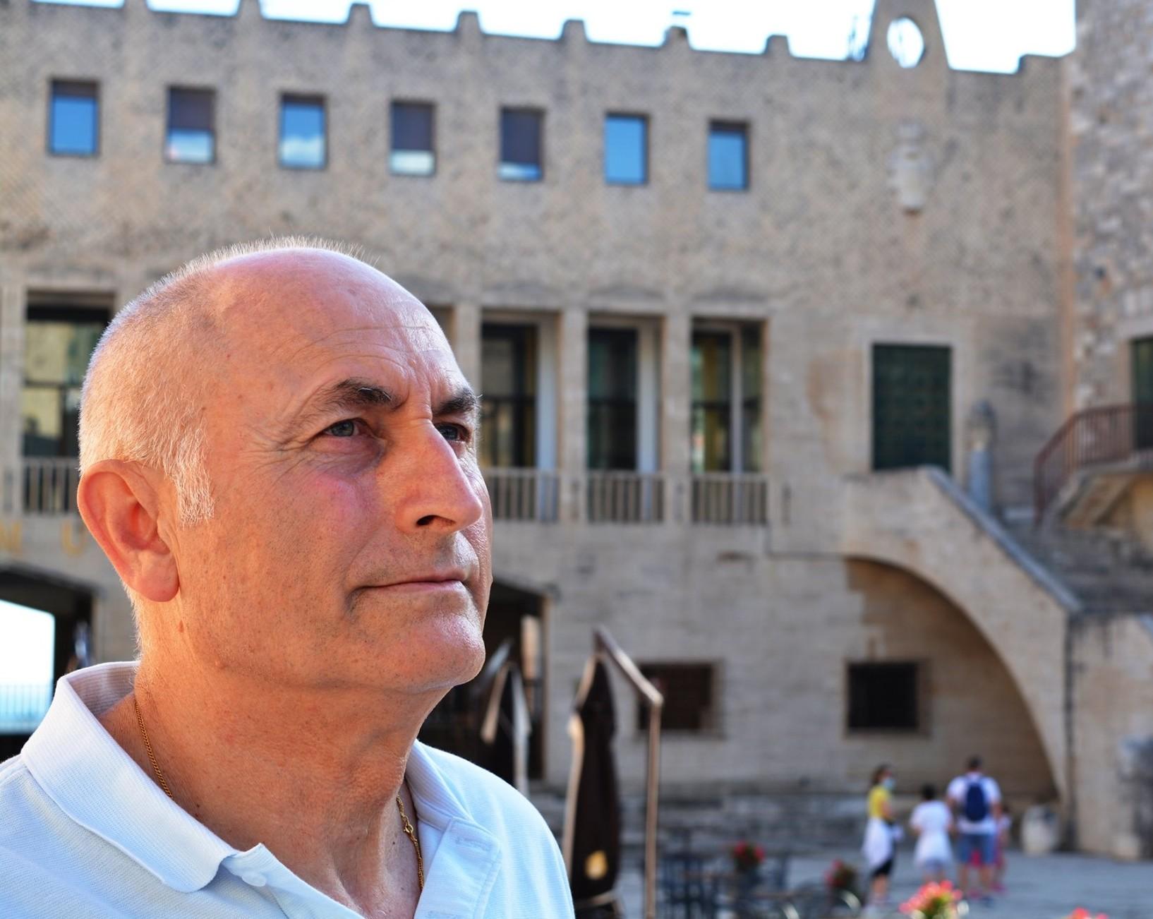 Piero Vanni, candidato sindaco del Movimento 5 Stelle per le elezioni amministrative a Terracina