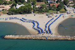 Stabilimento balneare della Lega Navale a San Felice Circeo
