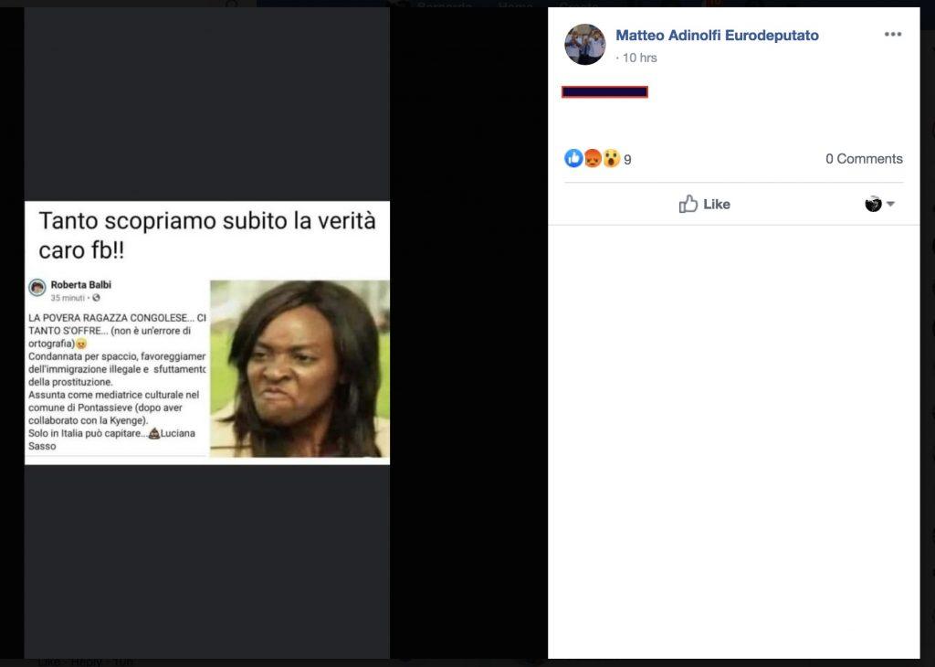Adinolfi fake
