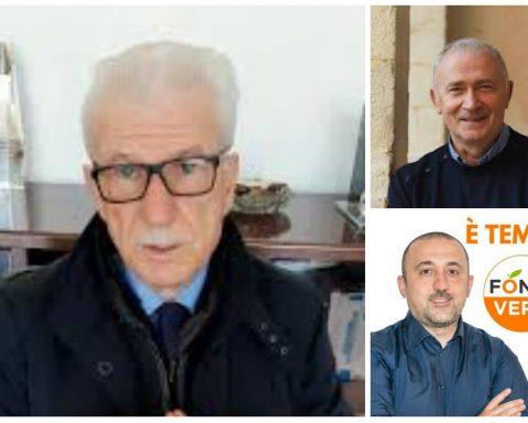 Beniamino Maschietto, Luigi Parisella e Francesco Ciccone