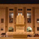 La fontana del grano in Piazza della Libertà