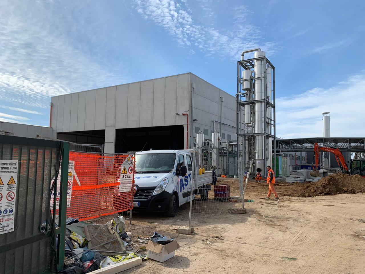 L'impianto a Biogas di Via della Spadellata, Anzio