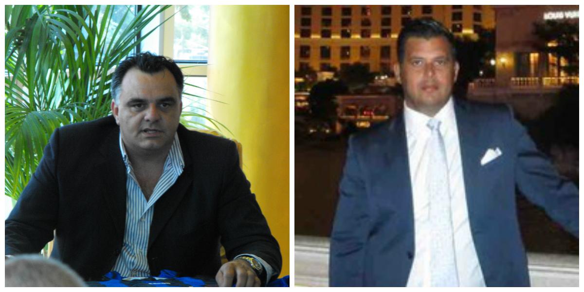 Luciano Iannotta e Natan Altomare, l'uomo considerato dagli inquirenti il suo braccio destro