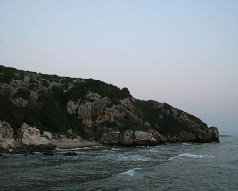 Monte Argento, Minturno