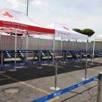 Nuova area a Fiumicino per i test rapidi Covid-19