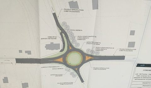 Progetto rotatoria tra la Pontina e via Lungo Sistro a Terracina