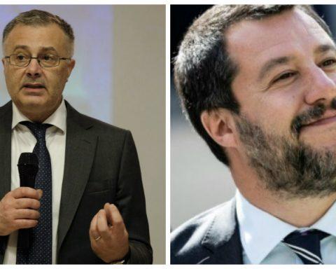 Giorgio Casati e Matteo Salvini