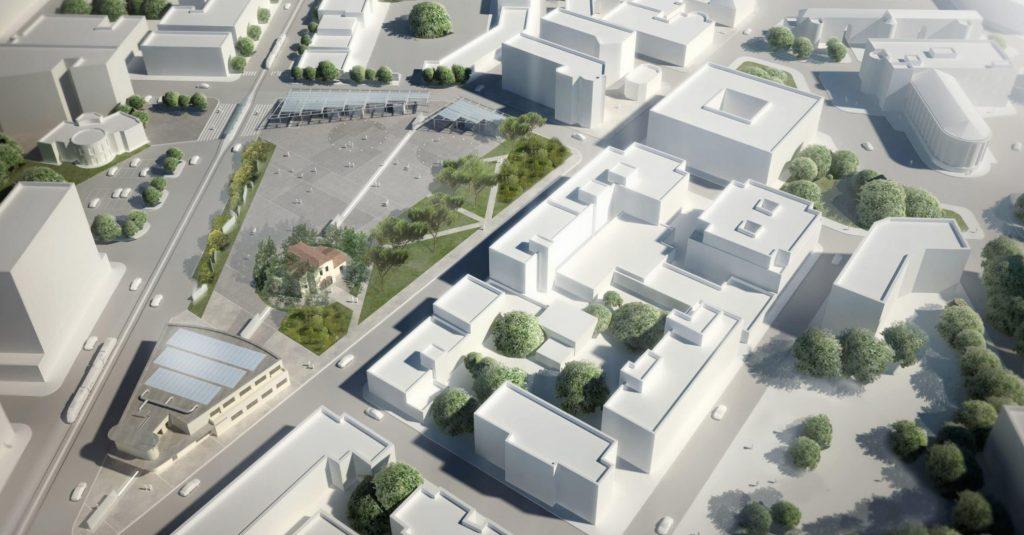 Il progetto per il Garage Ruspi dell'architetto Cupelloni