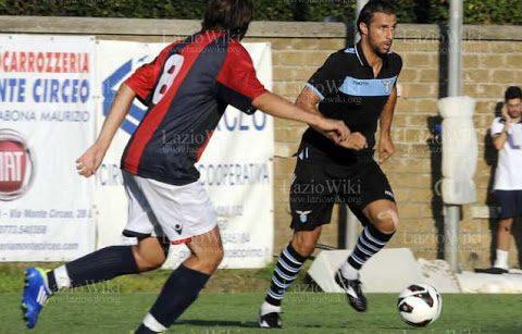Immagine della partita che si giocò 8 anni fa tra la squadra locale di San Felice e la Lazio