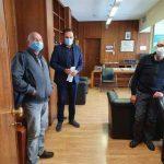 In foto da destra Gualtiere Alunni (Comitato No Corridoio Roma-Latina), Mauro Alessandri (Assessore Traporti Regione Lazio) e Claudio Bisini (No Bretella Cisterna-Valmonontone)